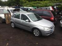 breaking for spares vauxhall corsa 1.2 16v 2003