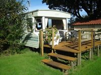 caravan holiday hire north cornwall in a peaceful non commercialised setting,4 miles from the sea