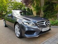 MERCEDES BENZ E220 CDI AMG SPORT PANORAMIC ROOF PADDLE SHIFT AUTO FULL SERVICE HISTORY SAT-NAVILONG