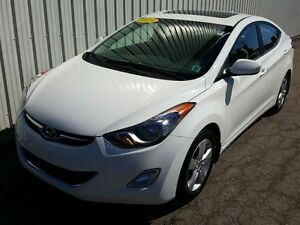 2013 Hyundai Elantra GL GLS/AUTO/AIR/SUNROOF/HEATED SEATS/BLUETO