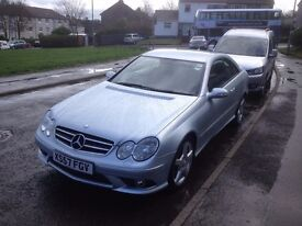 Mercedes Benz 220CLK, CDi Sports Coupe, Automatic Diesel.