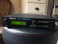Roland TD-7 Percussion Drum Sound Module