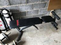 York fitness- adjustable bench