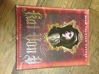 Book, Kat Von D High Voltage Tattoo, well bound book about Kat, her tattoos, friends and celebrities