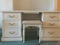 Bedroom Dressing table and 2 Bedside drawer units