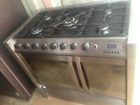 Belling Range gas cooker dual fuel..90cm free delivery