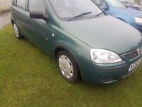 2003 VAUXHALL CORSA 1.2..5 DOOR..CLEAN CAR...