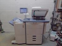 Toshiba E-Studio 5540C A3 A4 colour & mono photocopier printer scanner finisher vgc copy quality