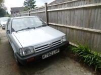 Nissan Micra 1992 genuine 43000 miles