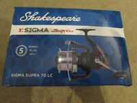 Brand New boxed Shakespeare Sigma Supra 70LC sea fishing reel.