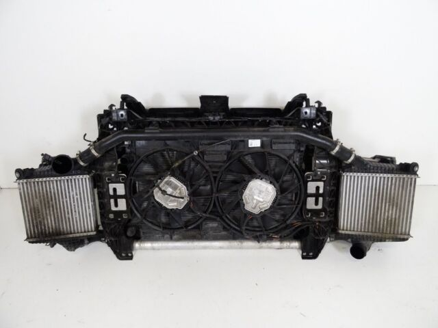Radiator pack with full slam panel and coolant Left hand drive Audi Q7 4M  3 0 TDI e-tron 2016 LHD | in Luton, Bedfordshire | Gumtree