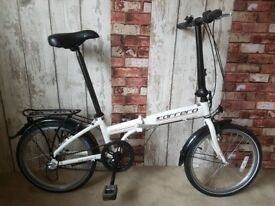 2017 Carrera Transit Folding Bike. 3 Gears. Excellent Condition. RRP £320