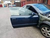 Astra mk4 Bertone doors blue