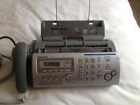 Panasonic answer phone & fax
