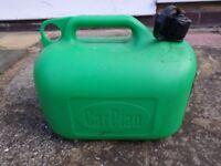 Plastic 5L Fuel Can