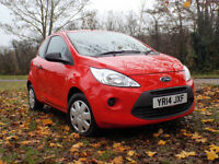 FORD KA STUDIO. 2014. ONLY 17K. IDEAL CHRISTMAS PRESENT. VERY TIDY. £4500.