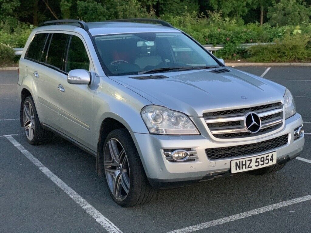 Silver Mercedes-Benz GL-Class 420CDI 4 MATIC for sale, may swap or P/X   in  Portadown, County Armagh   Gumtree