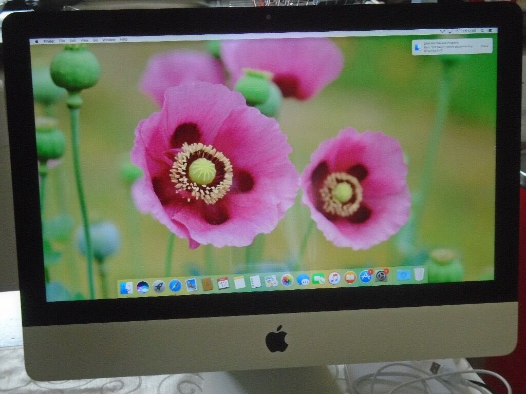 Apple iMac 2014, slim, I, Pristine condition, 8GB DDR 3, 500MB HDin Southside, GlasgowGumtree - 2014 Model Imac. Comes all boxes and includes dust cover. Like new, not a blemish on it! FaceTime HD Camera. 21.5 inch Full HD Screen(LED). 1.4 GHZ I5 Dual Core Processor with turbo boost up to 2.7GHZ, 3MB shared l3 cache. 8GB 1600 MHZ LPDDR 3 RAM....