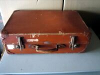 Expanding Suitcase, Vintage/ Retro SPARTAN Lightweight luggage. Bought in 1955