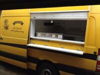 Burger van Snack bar catering not trailer 2008 Mercedes 311 LWB