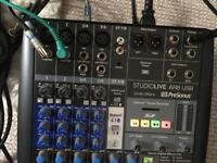 Presonus ar8 usb mixer
