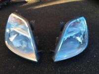 Ford Fiesta mk6 headlights