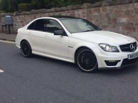 Mercedes Amg c63 2013 6.3 litre