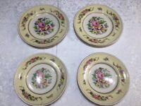 Vintage Ambassador Ware Dinner & Side Plates