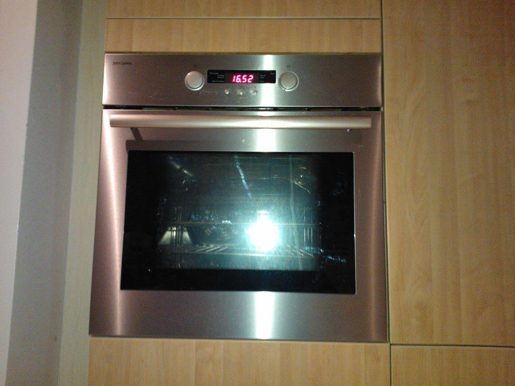 oven for sale john lewis single fan oven 60 buyer to. Black Bedroom Furniture Sets. Home Design Ideas