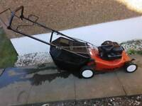 Lawnking by mountfield self proppeled petrol lawnmower with grass box