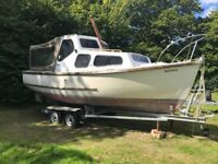 21ft Day Boat - Parkstone Bay Kingfisher