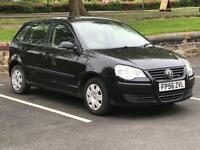 VOLKSWAGEN POLO 1.2 2007 (56 REG)**£1299**LONG MOT*5 DOOR*CHEAP CAR TO RUN*PX WELCOME*DELIVERY