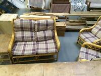 Conservatory set bamboo style ONLY £100!