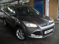 FORD KUGA 2.0 TDCi TITANIUM 4X4 5DOOR WITH FULL LEATHER AND VERY HIGH SPECIFICATION