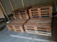 EPAL wooden pallets