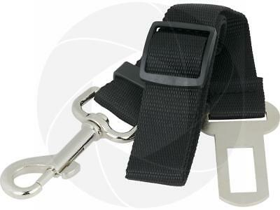 Adjustable Black Nylon Dog Pet Car Safety Seat Belt Harness Restraint Lead - Adjustable Seat Leash