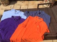 Ralph Lauren t shirts x4 size xxl