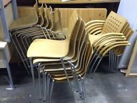 Stacking Bar Stools/Reception chairs