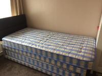 Single Divan Visitor Bed