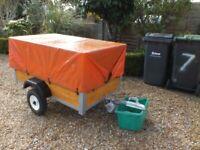 Large car box trailer