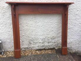 Wooden Fireplace - reduced for quick sale