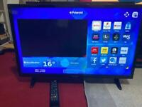 50INCHES POLAROID LED SMART TV WITH REMOTE IN PERFECT WORKING CONDITION