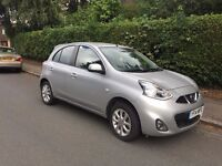 2014 NISSAN MICRA Facelift Model in Metallic SILVER CAT D 11,000 Genuine Miles EXCELLENT CONDITION