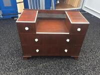 Solid wood chest of draws / vanity table