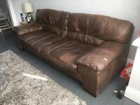 Brown Leather suite 3 and 2