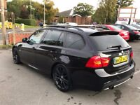 BMW 3 Series 3.0 335d M Sport Touring ESTATE 5dr DOUBLE PAN ROOF SAT NAV HEATED SEATS LOW MILEAGE