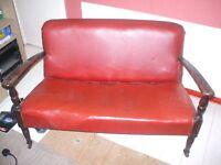 Antique 2 seater sofa.