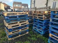 Heavy Duty Wooden Euro Pallets Timber Recycled Reclaimed Wood Free Delivery