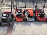 Job lot of petrol lawnmower