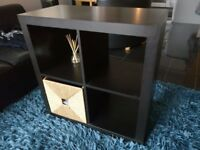 Ikea Shelving unit KALLAX and basket